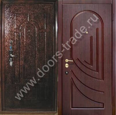 металлические облегченные двери эконом класса в москве