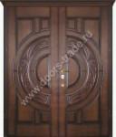 изготовление и установка двухстворчатых металлических дверей